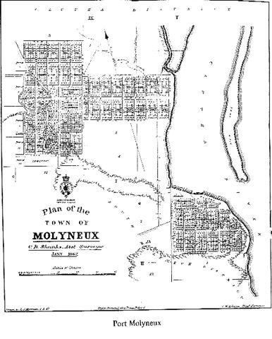 Map of Port Molyneux